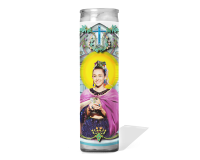Miley Cyrus Celebrity Prayer Candle