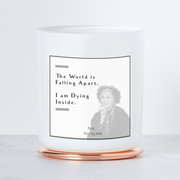 The World is Falling Apart - Moira Rose Luxe Scented Candle - Sea Salt & Orchid