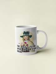 Moira Rose - The World is Falling Apart - Schitt's Creek Coffee Mug