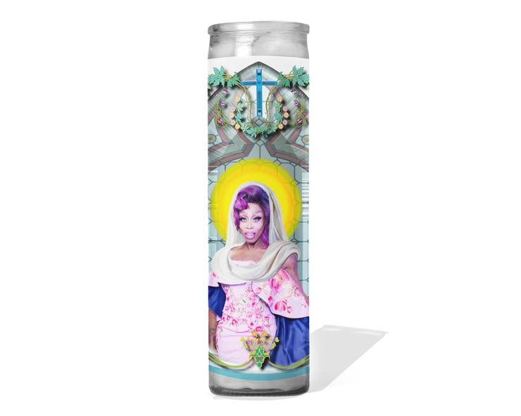 Monique Heart Celebrity Drag Queen Prayer Candle - RuPaul's Drag Race