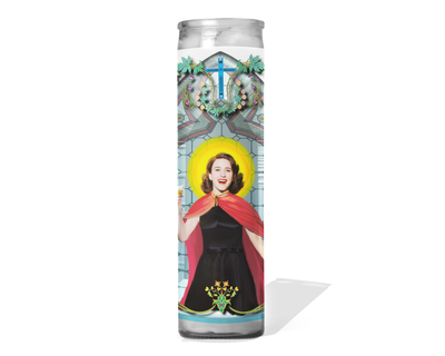 Mrs. Maisel Celebrity Prayer Candle - The Marvelous Mrs. Maisel