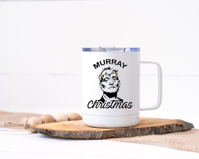 Murray Christmas - Bill Murray Stainless Steel Travel Mug