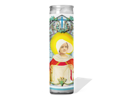 Offred Celebrity Prayer Candle - The Handmaid's Tale - Elisabeth Moss