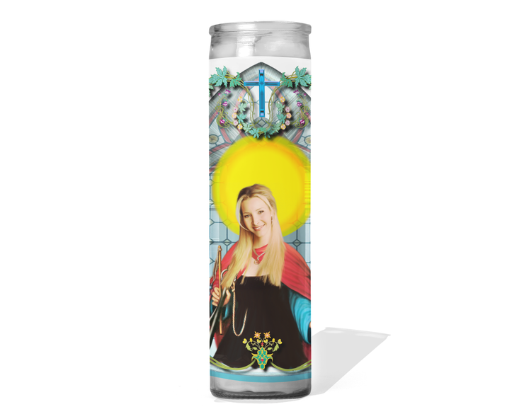 Phoebe Buffay Celebrity Prayer Candle - Friends - Lisa Kudrow