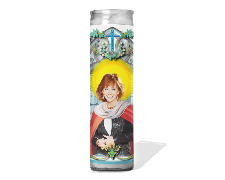 Reba McEntire Celebrity Prayer Candle