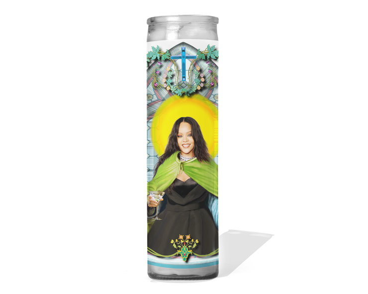 Rihanna Celebrity Prayer Candle