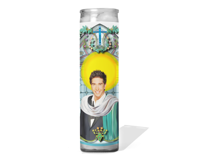 Ross Geller Celebrity Prayer Candle - Friends - David Schwimmer