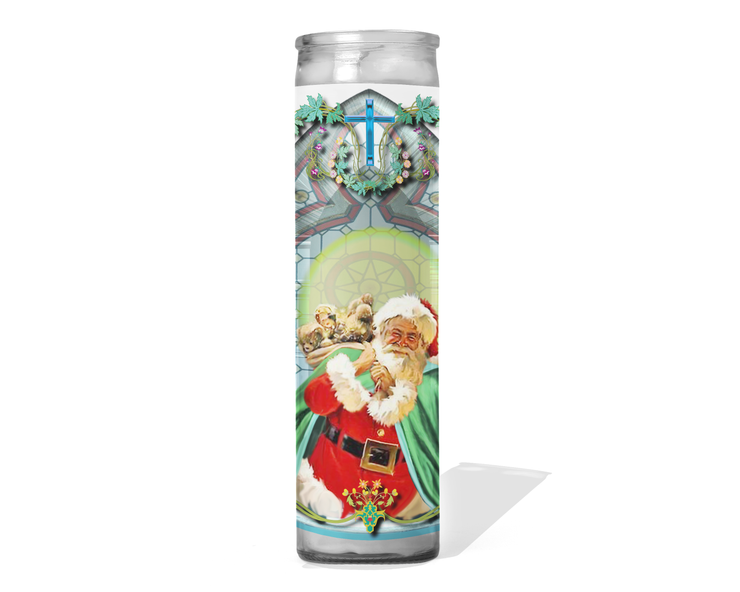 Santa Claus - Christmas Celebrity Prayer Candle