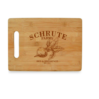 Schrute Farms - The Office Bamboo Cutting Board