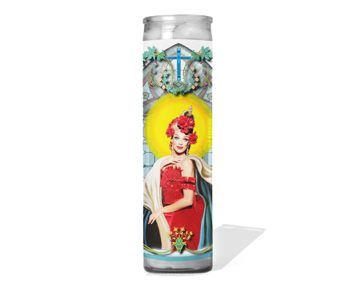 Valentina Celebrity Drag Queen Prayer Candle - RuPaul's Drag Race