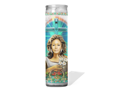 Whitney Houston Celebrity Prayer Candle