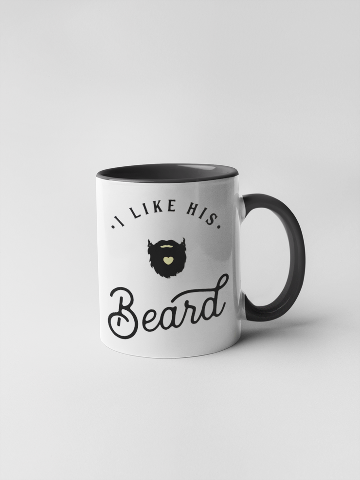 I Like His Beard Coffee Mug