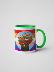 Rise Up - Pride 2020 Coffee Mug - Gay, Trans, Black Lives Matter