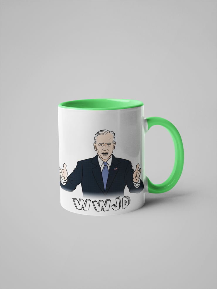 WWJD - What Would Joe Do? Joe Biden Mug