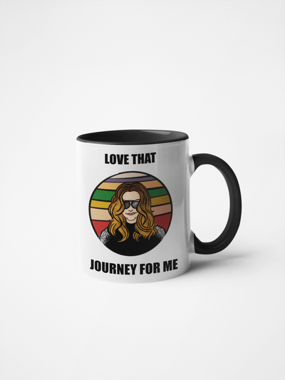 Love That Journey For Me Coffee Mug - Schitt's Creek - Alexis