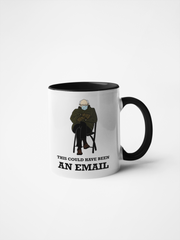 Bernie Sanders Inauguration Meme Mug - This Could Have Been an Email