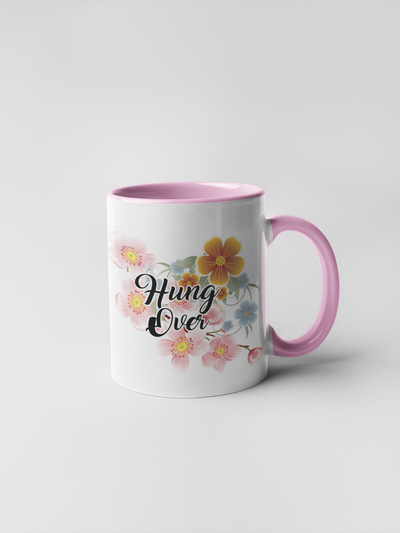 Hung Over Mug - Floral Fancy and Delicate