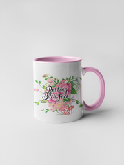 Resting Bitch Face - Floral Delicate and Fancy Coffee Mug