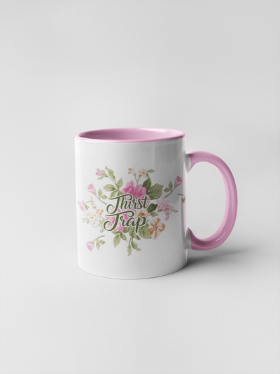 Thirst Trap - Floral Delicate and Fancy Coffee Mug