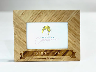 Thirst Trap - Bamboo Photo Frame