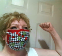 "Washable Pleated Face Masks -- FREE SHIPPING -- ""Since We Have To, Be Fashionable!"""