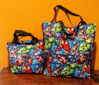 Marvel Comics Character Shopping Bags