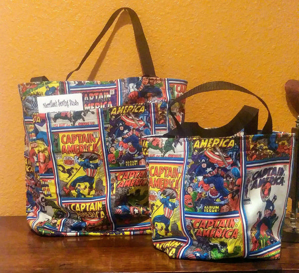 Captain America Shopping Bags