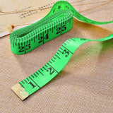 Braylin 5 Piece Body Measuring Tape Ruler Sewing, Tailor Double Sided Scale Measure Tape Soft Flexible,Tape Measure 60Inch 150 cm Colorful