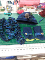 Women's and Little Girl's Cloche Hats, Gloves and Scarves