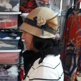 Make Your Own Cloche Hat Class - Saturday, January 25, 10 am to 2 pm