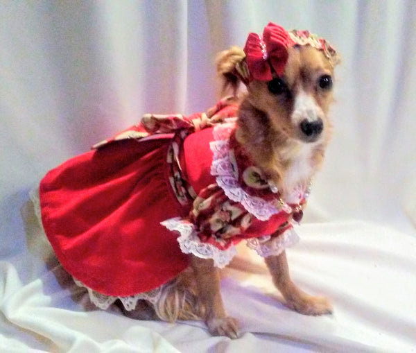 Be My Valentine Dog Dress