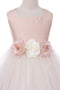 Cutie Classic Silk Flower Girl Dress