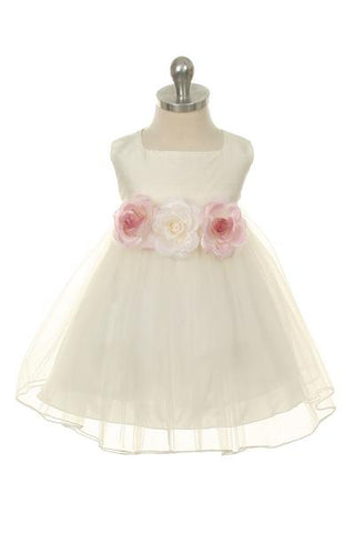 100% Silk Top Baby Dress