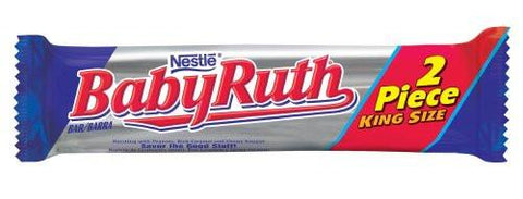 Babyruth - King Size Bar - 3.7 oz - 18CT