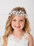 Cutie Flower Girl Wire Floral Headpiece - #150