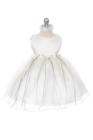 Rosebud Organza Baby Dress