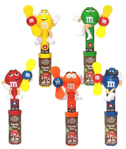 Candyriffic M&M Character Fan - 12CT