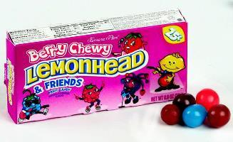 Chewy Lemonhead & Friends - Berry - 25 Cent - 24CT