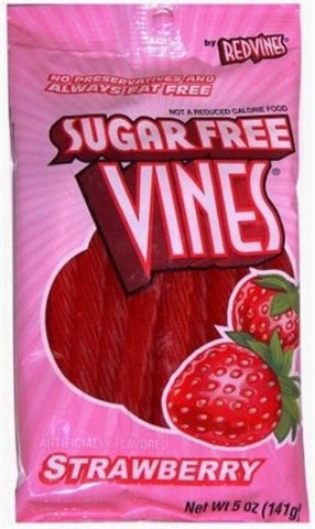 Sugar Free Licorice Strawberry - 5 oz - 12CT