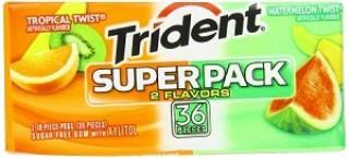 Trident Superpack - Tropical/Watermelon - 8CT
