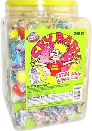 Cry Baby Extra Sour - 240CT TUB