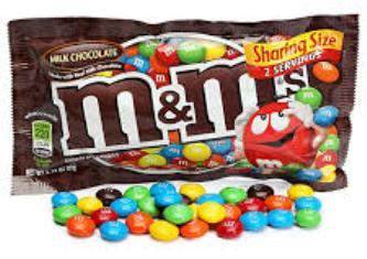 M&M's Milk Chocolate King Size - 3.14 oz - 24CT