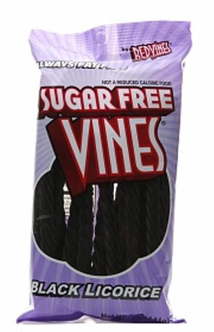 Sugar Free Licorice Black - 5 oz - 12CT