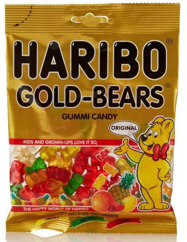 Gold Bears - 5 oz - 12CT
