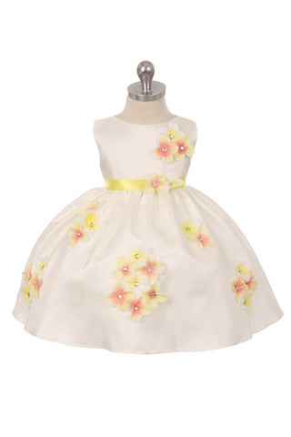 Baby Girls Dresses-01219-F