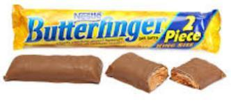 Butterfinger King Size Bar - 3.7 oz - 18CT