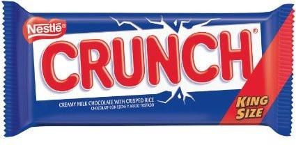 Nestle Crunch King Size Bar - 2.75 oz - 18CT