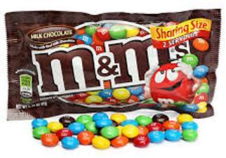 M&M's Milk Chocolate - 1.69 oz 48CT