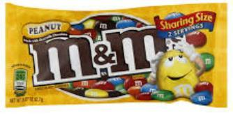 M&M's Peanut King Size - 3.27 oz - 24CT