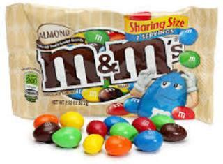 M&M's Almond King Size - 2.83 oz - 18CT